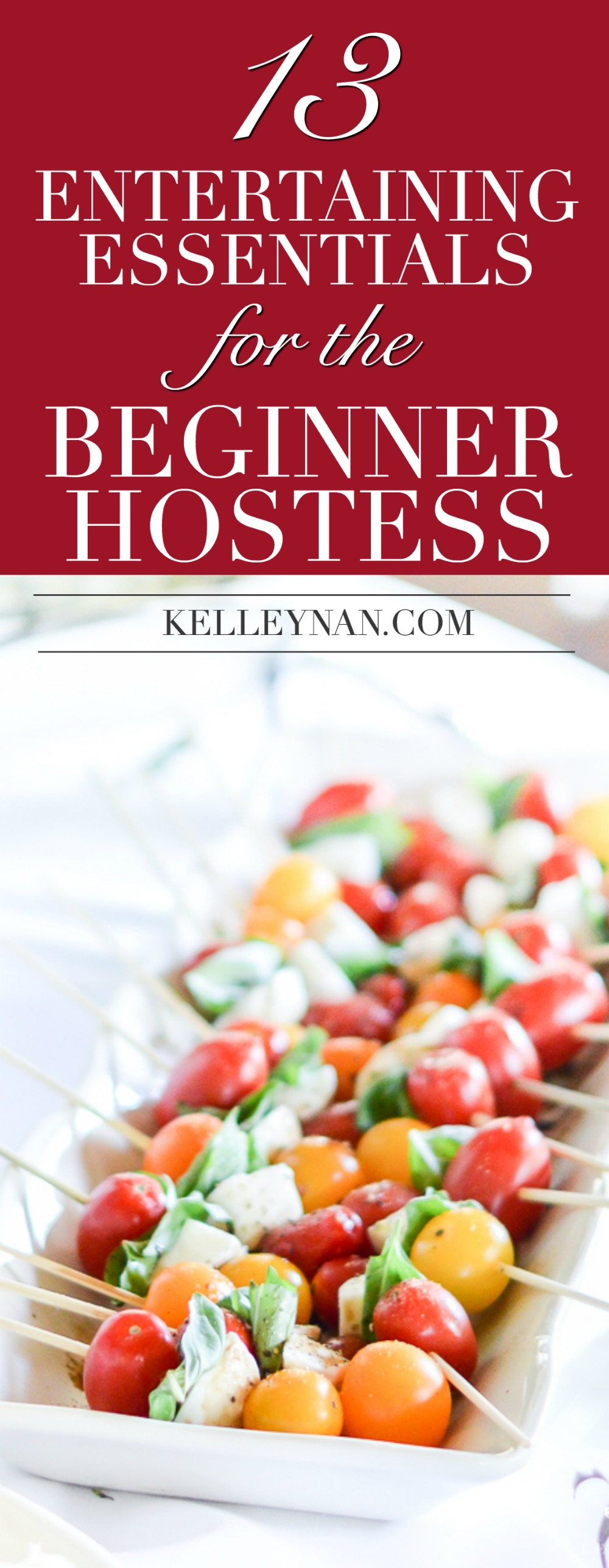 What you need to host a party or a dinner- perfect wedding registry ideas