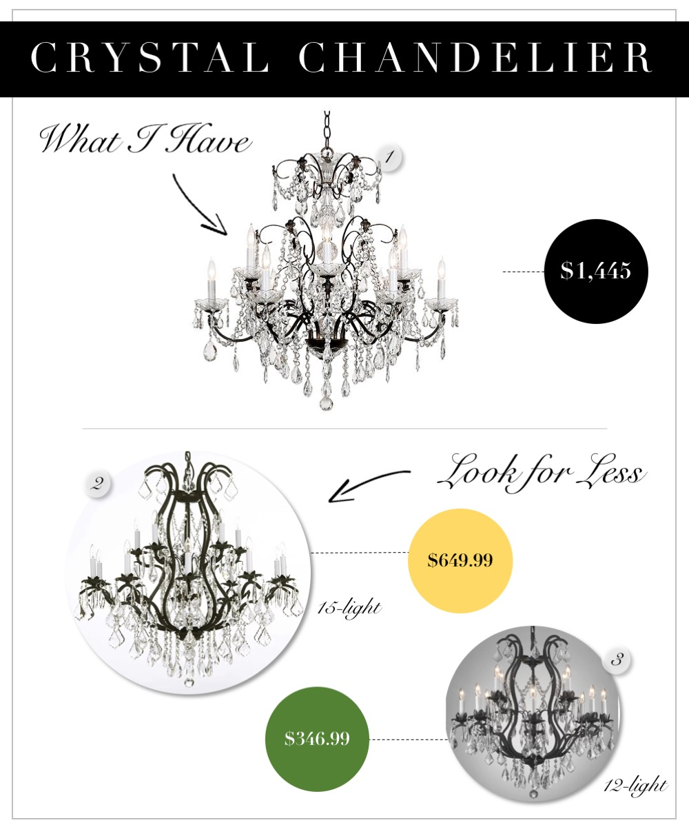 Crystal Chandeliers that are affordable for the dining room