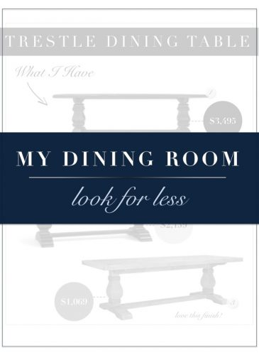 My Dining Room: Look for Less
