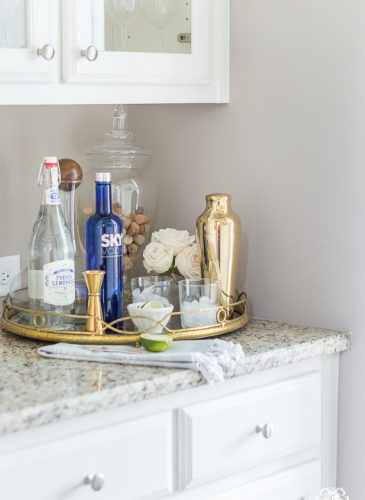 Organization Ideas for a Small Butler's Pantry