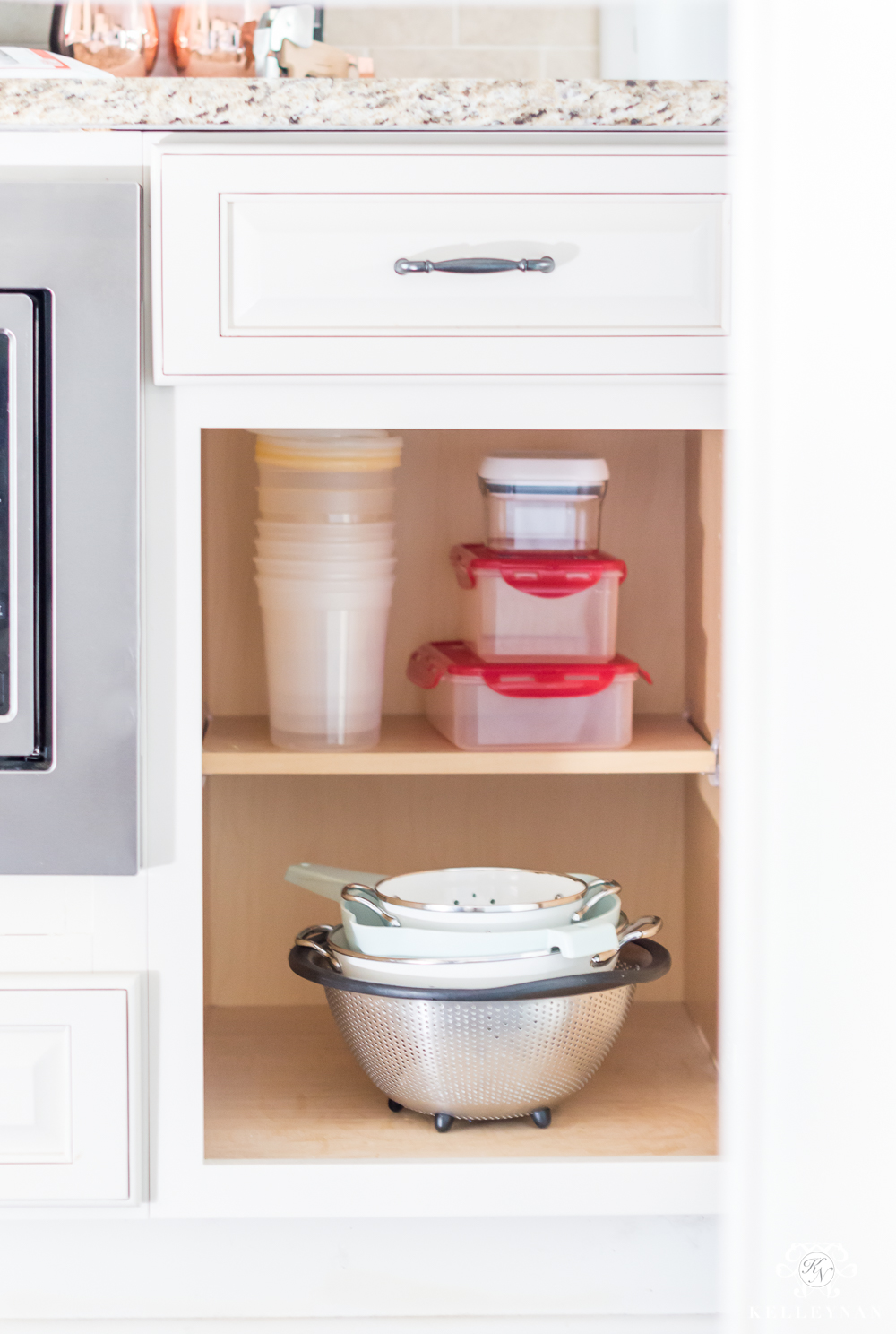 Freezer containers to hold on to when decluttering the kitchen