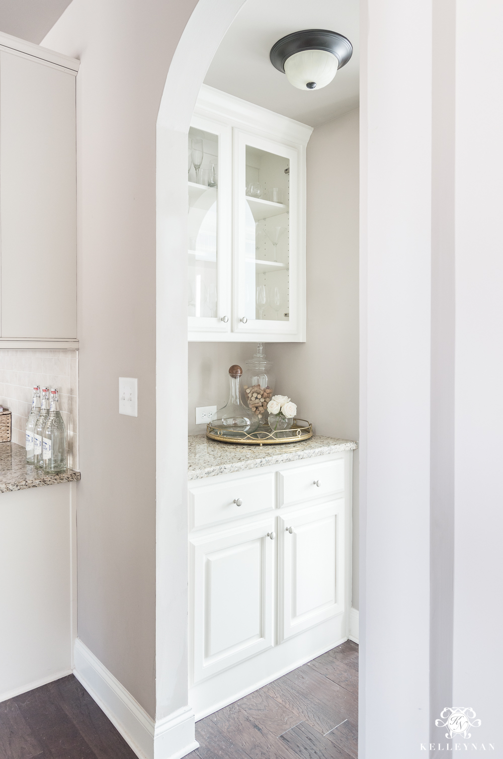 Organization Ideas For A Small Butler S Pantry Kelley Nan