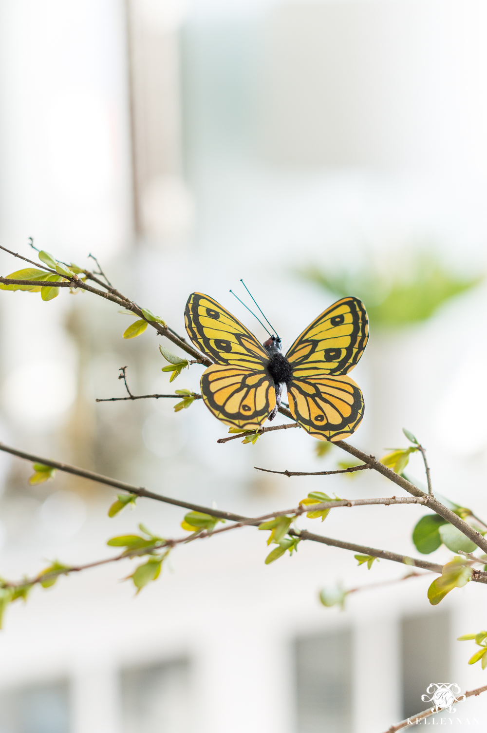 Paper Clip On Butterflies for a Fresh Spring Table
