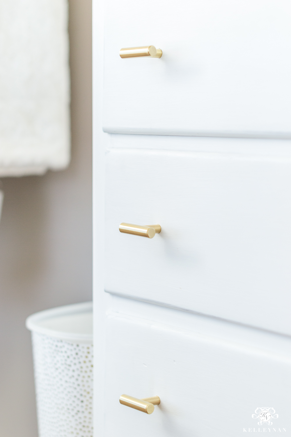 Inexpensive, pretty brass chest of drawer knobs