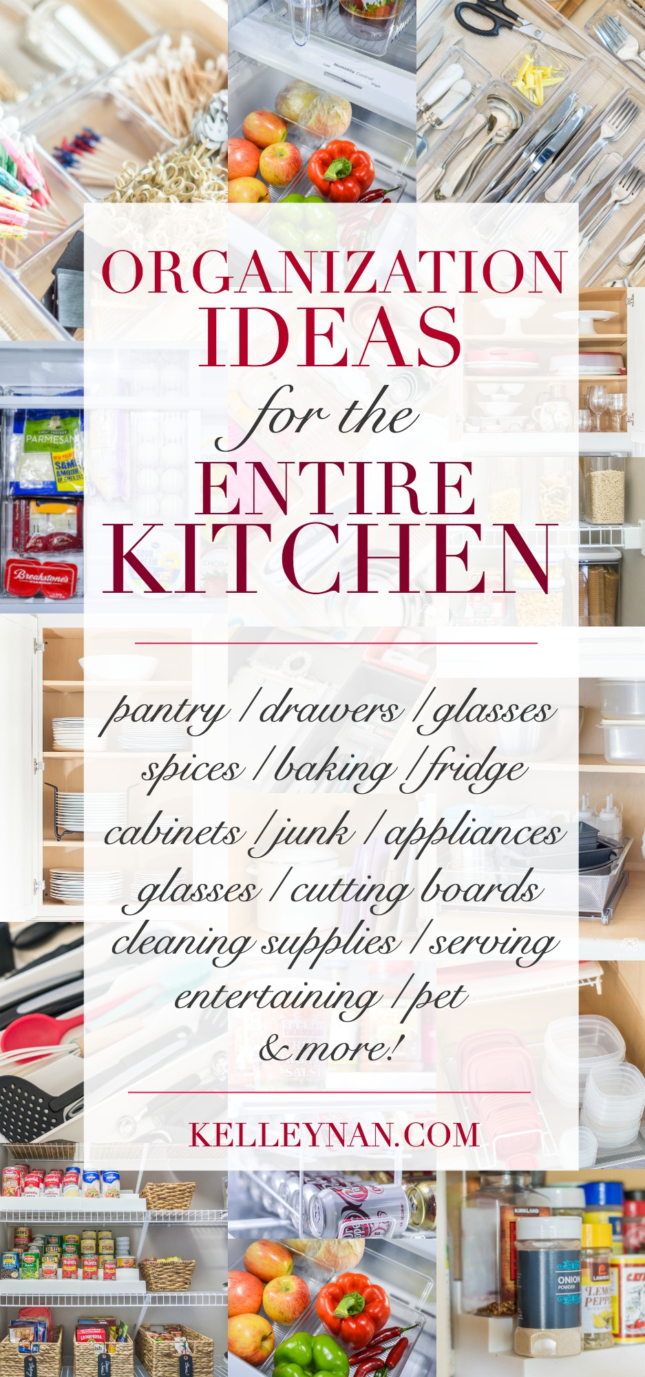 How to organize everything in your kitchen from the pantry to the cabinets and drawers