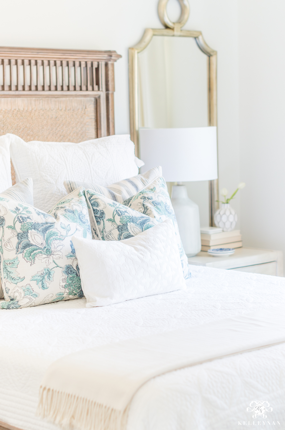 Spring Guest Bedroom Pillows