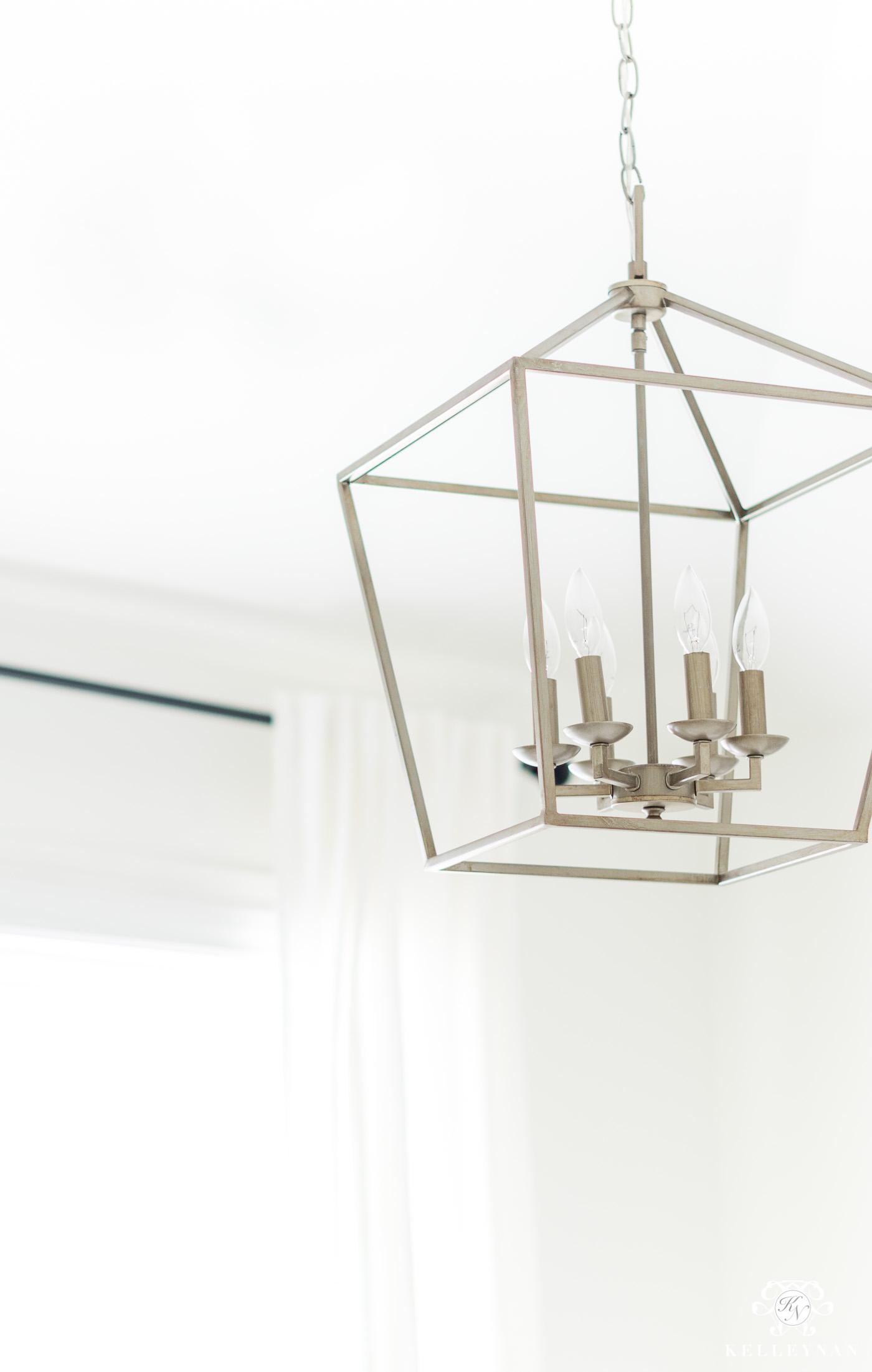 Carmen 6-Light Foyer Pendant in Antique Silver Leaf