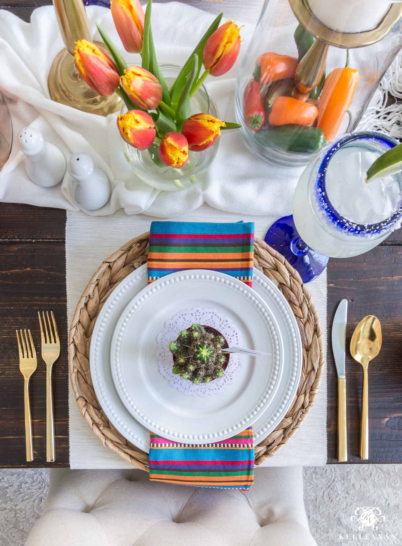 Cinco de Mayo Fiesta Table Decorations