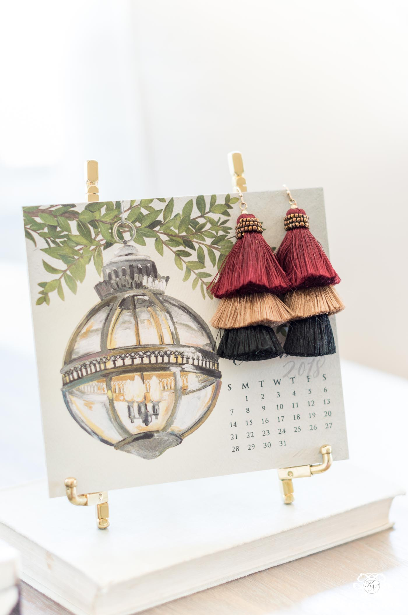 Kelly Kay Paper Desk Calendar