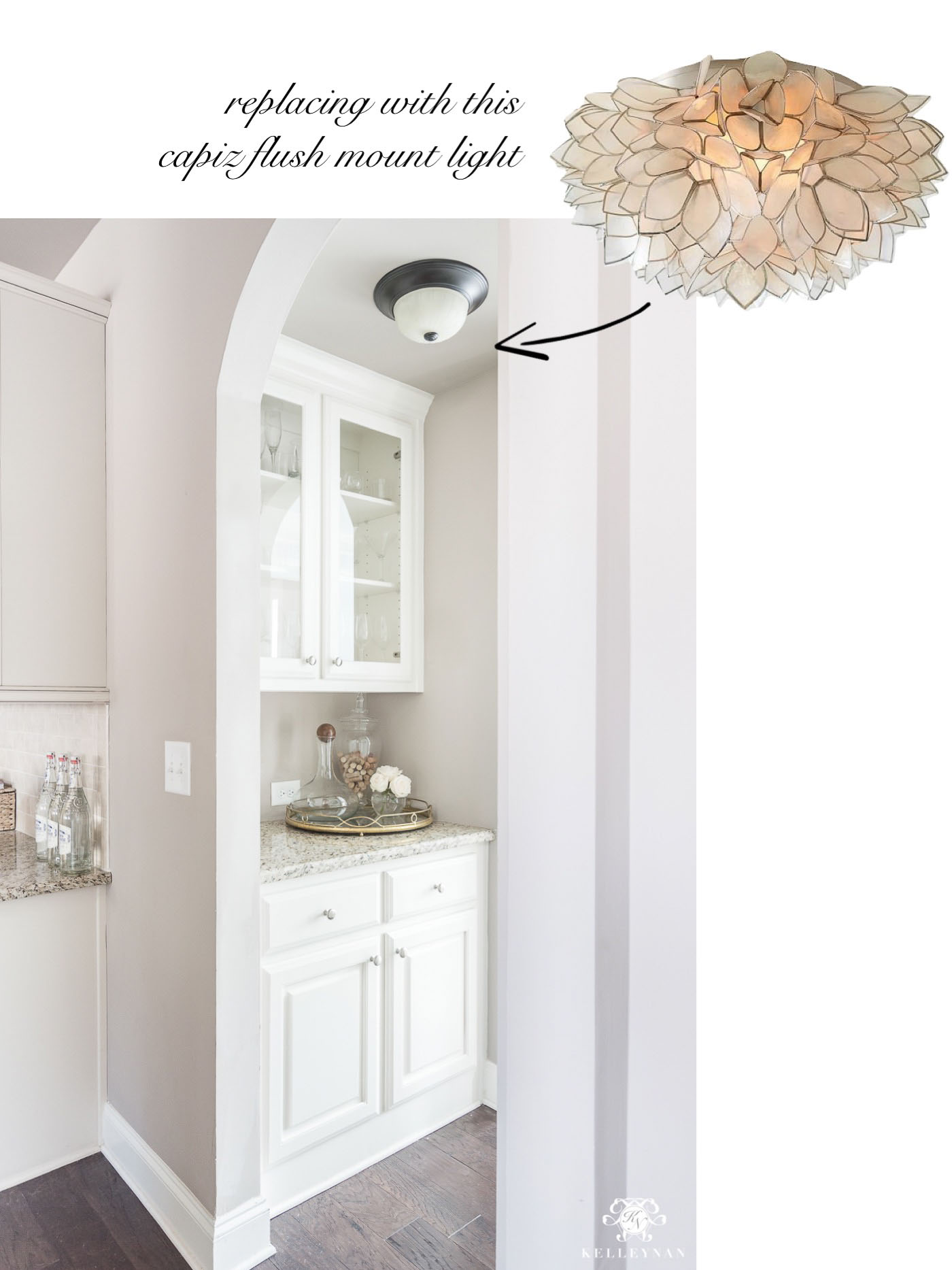 Capiz Flush mount Lighting Ideas