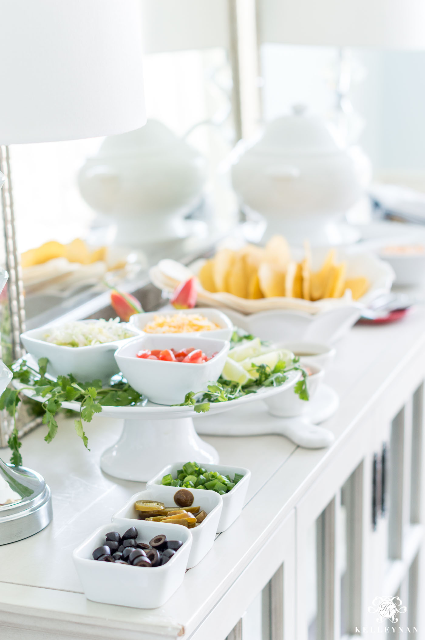 DIY Taco Bar with Toppings and Sides