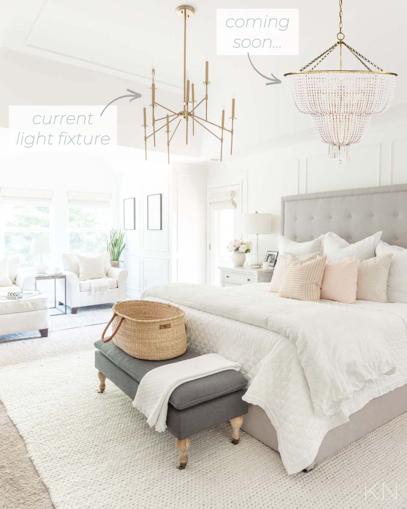 15 Beaded Chandeliers for the Master Bedroom