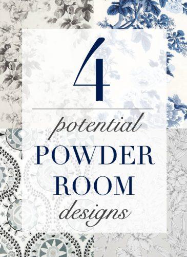Four Potential Powder Room Design Ideas
