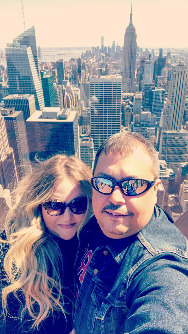 Top of the Rock view of NYC