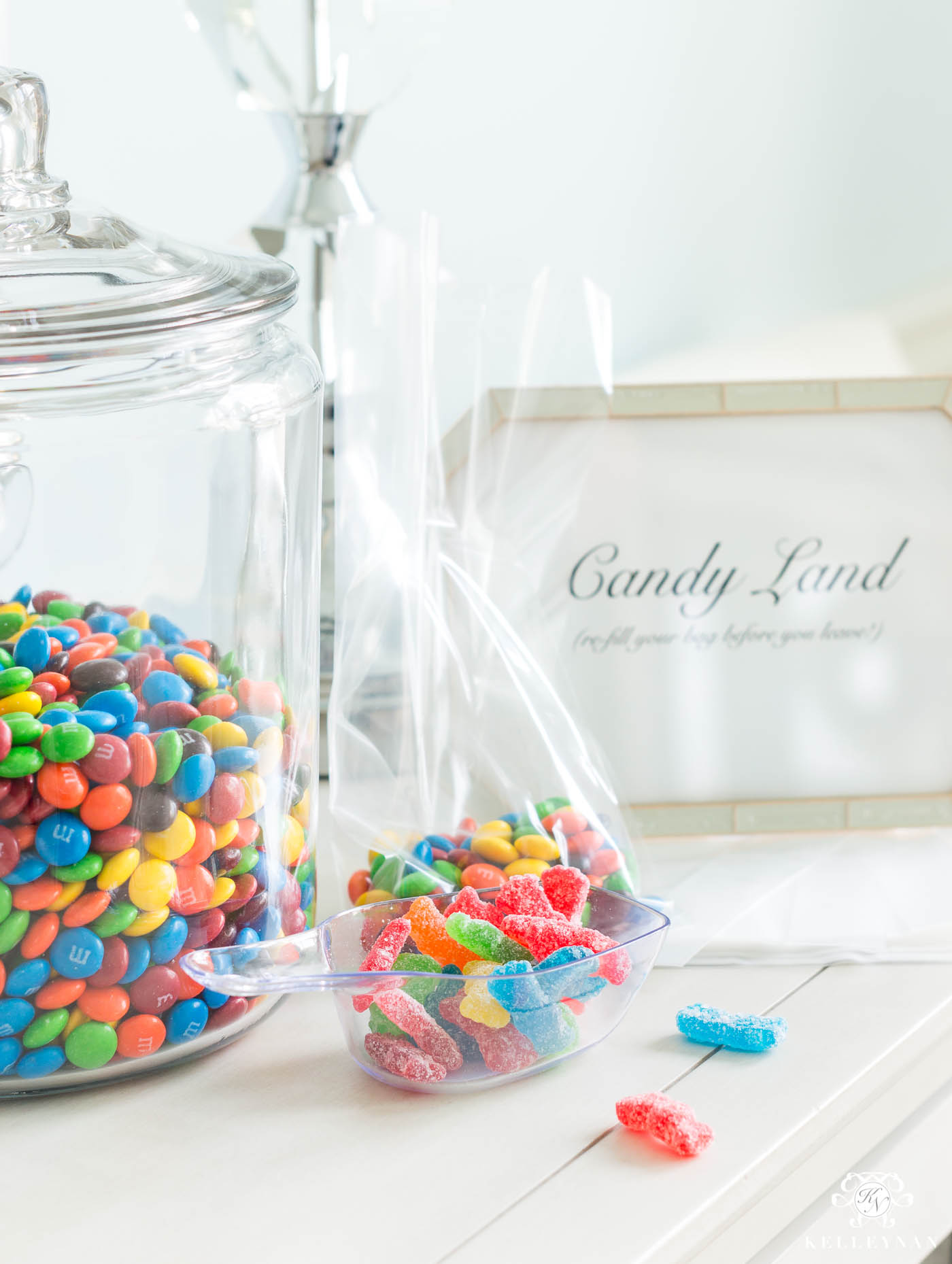 Candy land grab bags for showers, parties, and game nights