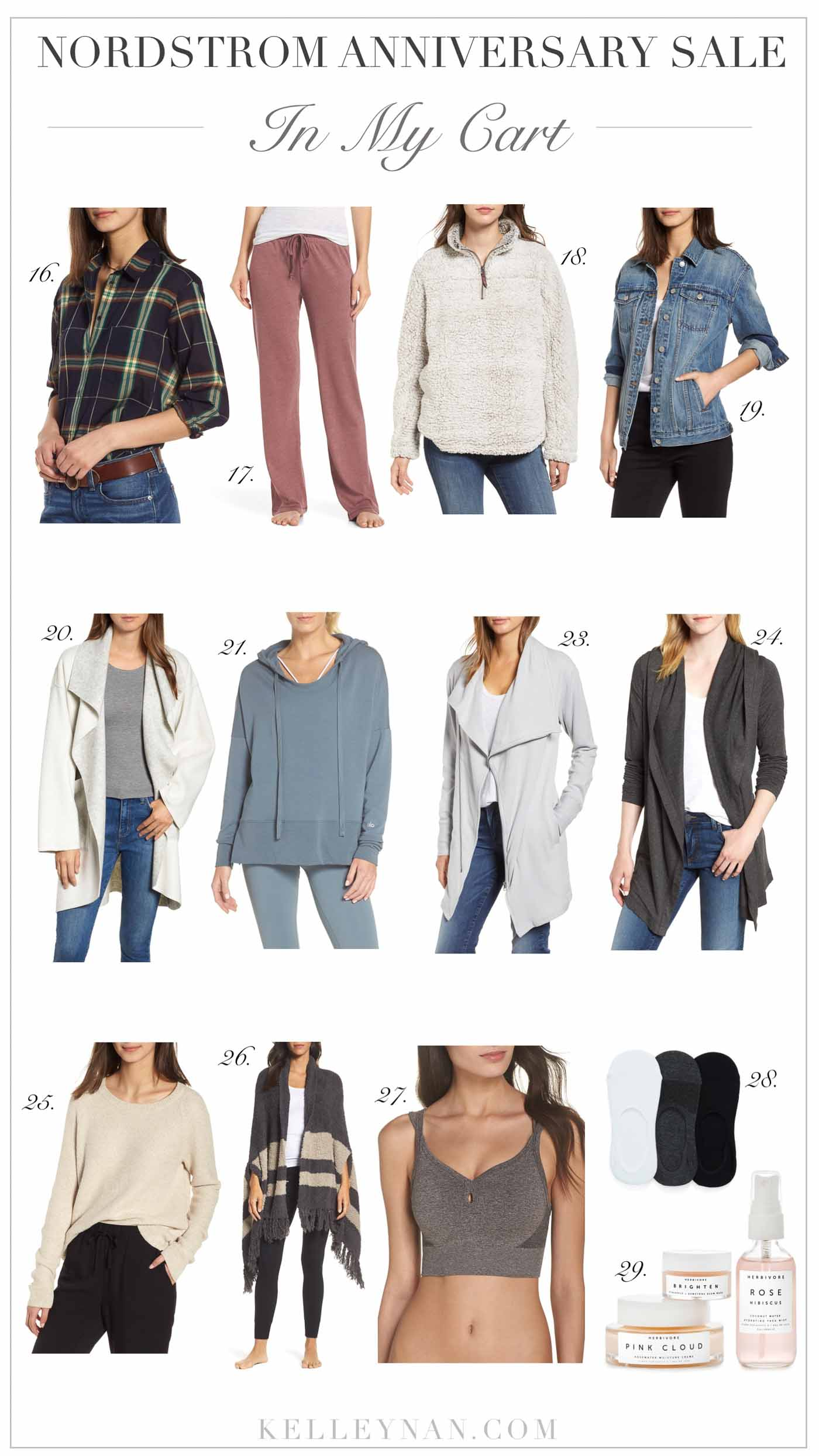 Nordstrom Anniversary Sale 2018 - Lounge and Cozy WOmen's Favorites