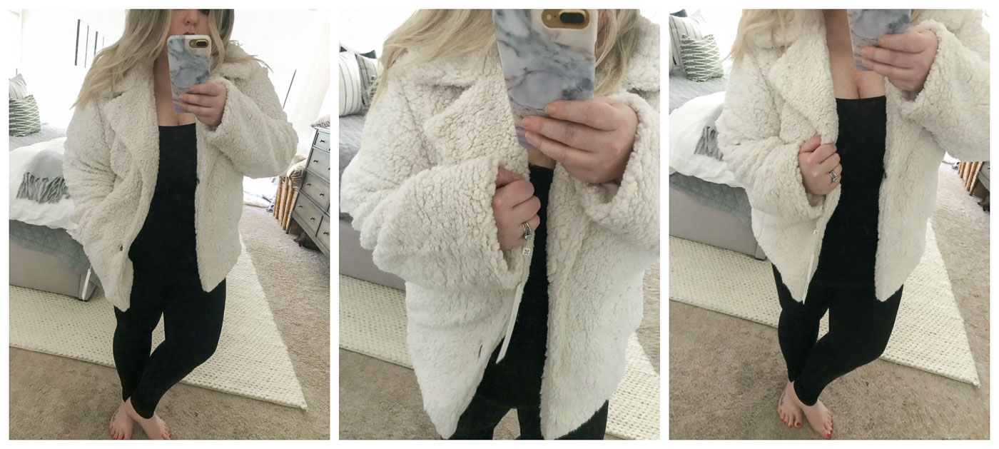 Nordstrom Anniversary Sale- Caslon® Faux Shearling Jacket