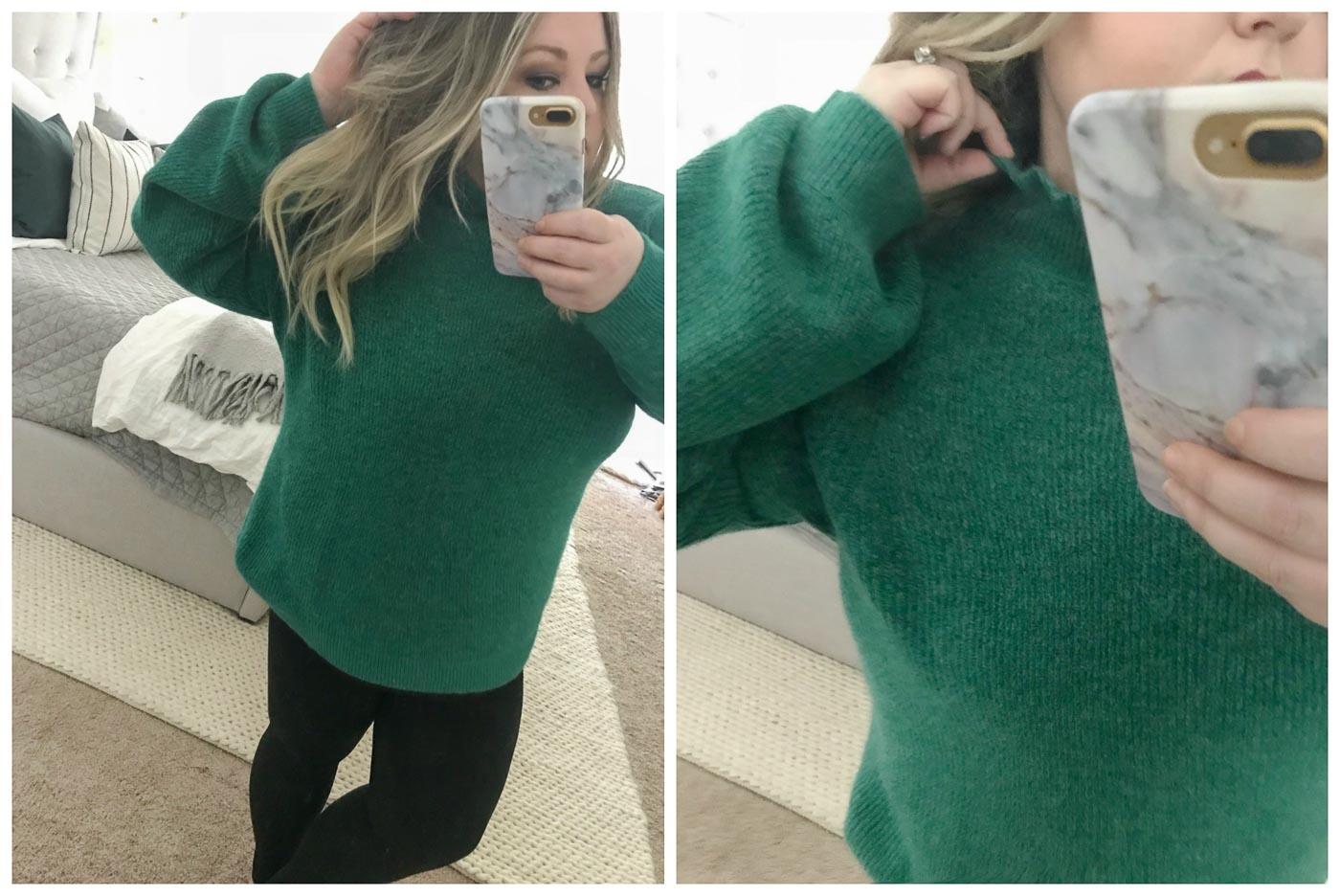 Nordstrom Anniversary Sale - Halogen® Ruffle Neck Sweater