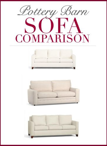 "Pottery Barn Sofa Comparison: Cameron vs. Pearce vs. Buchanan (Yes, we did ""a thing"")"