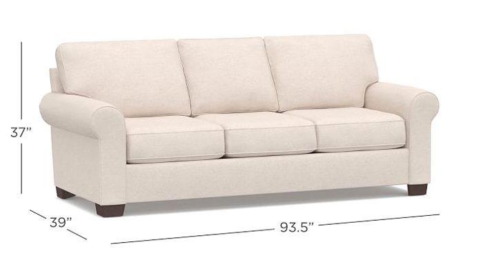 Genial PB Sofa Comparison  Buchanan Roll Arm