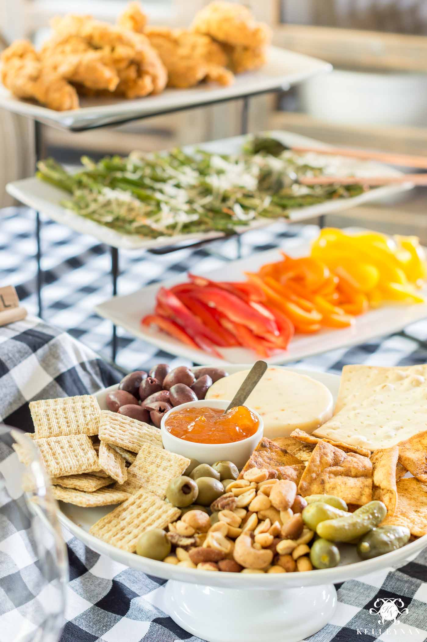 Appetizer meal ideas for a casual game night