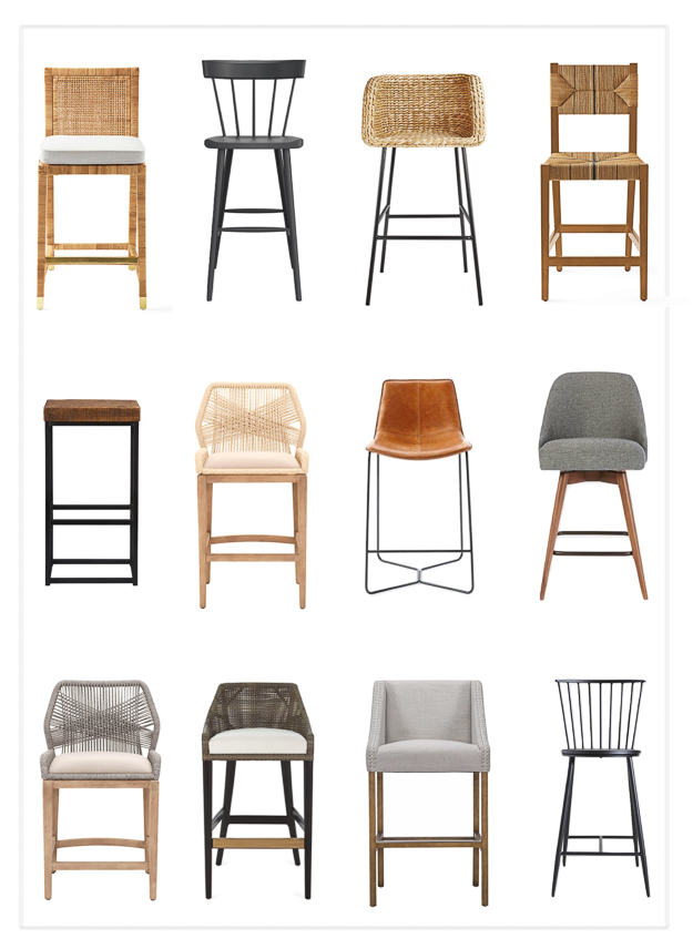 newest 30853 53282 Transitional Bar Stools and Counter Height Kitchen Stools of ...