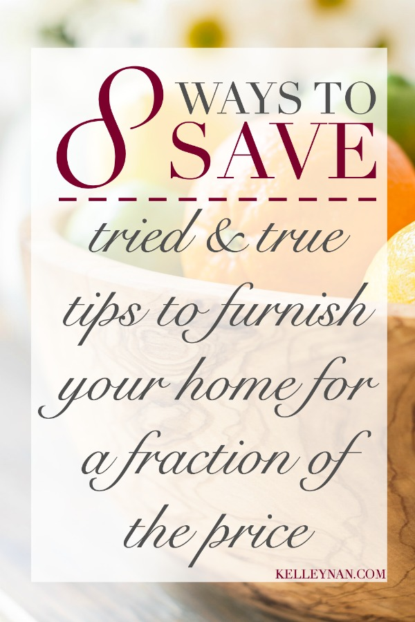 Eight tips and ideas to save on home decor purchases