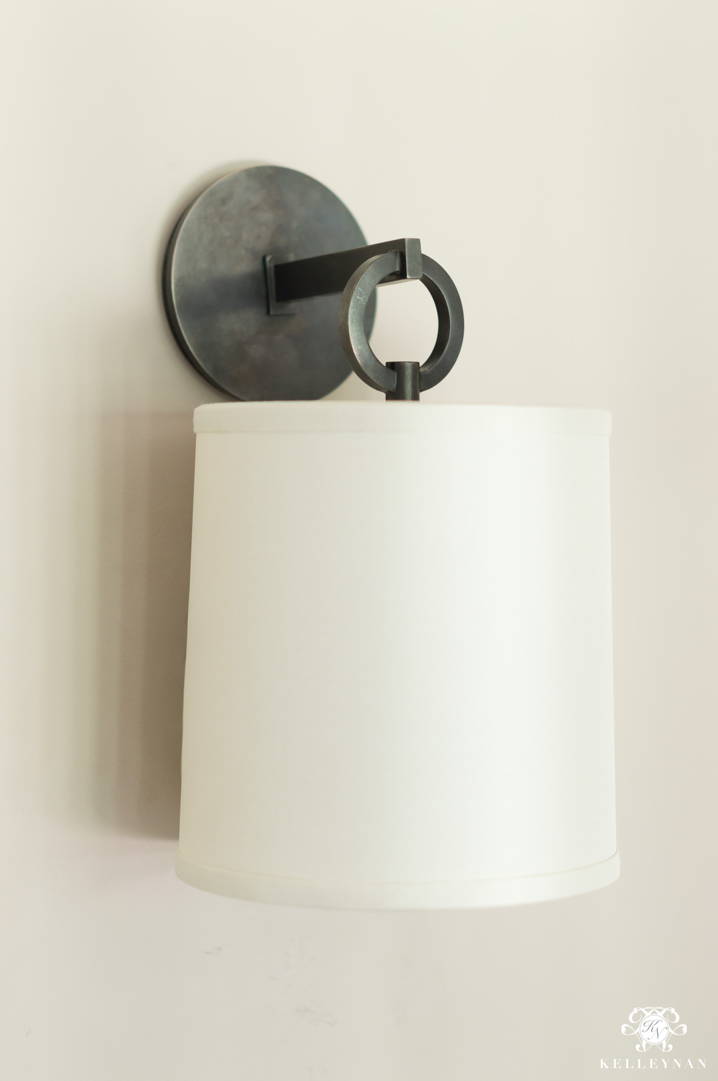 Visual Comfort Bronze Shade and Sconce