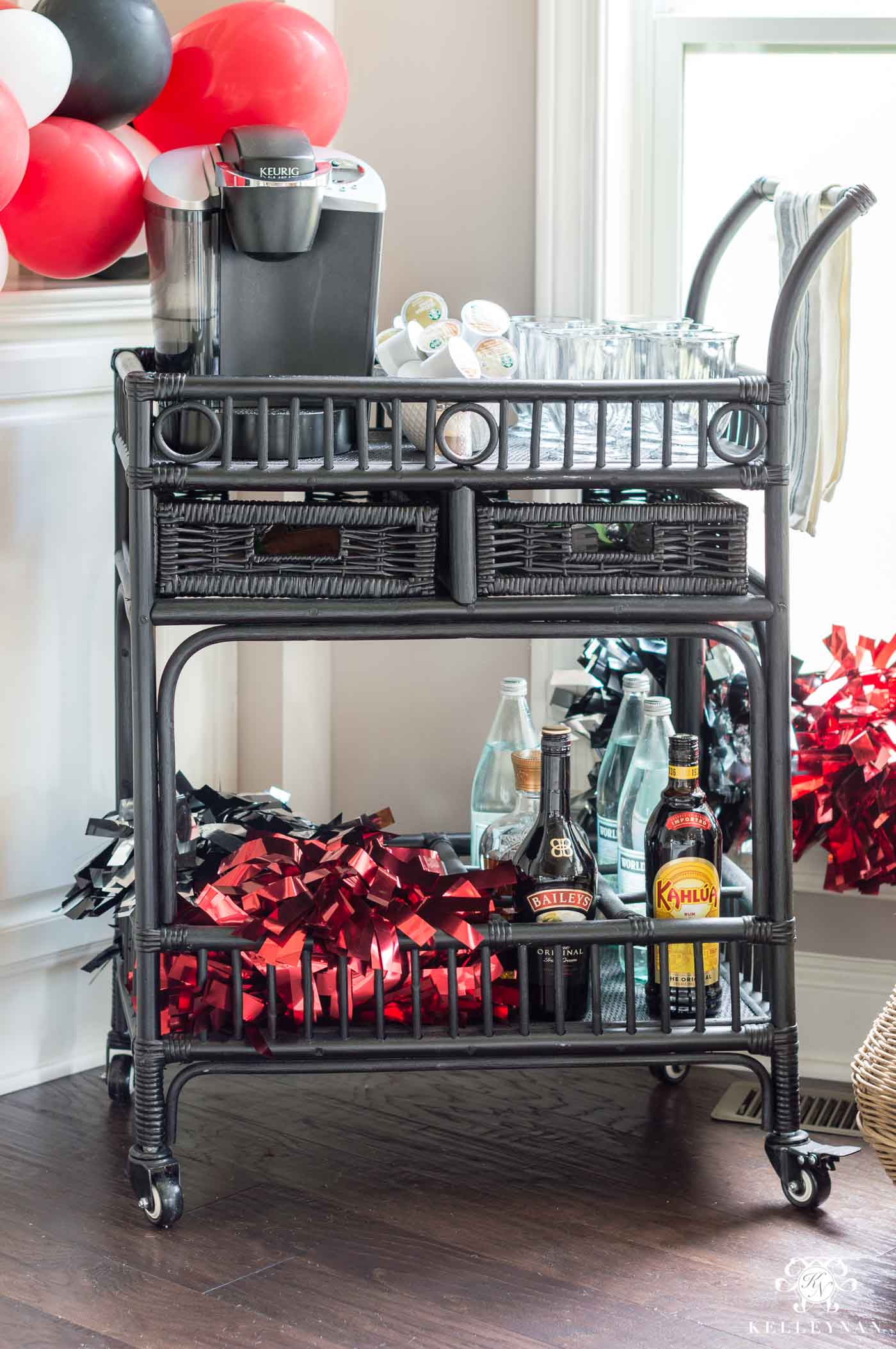Coffee bar ideas for morning tailgates at home