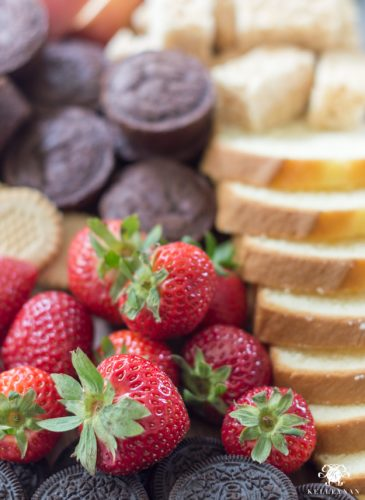 An Easy Fondue Dessert Board (Plus, Other Killer Party Platter Ideas)