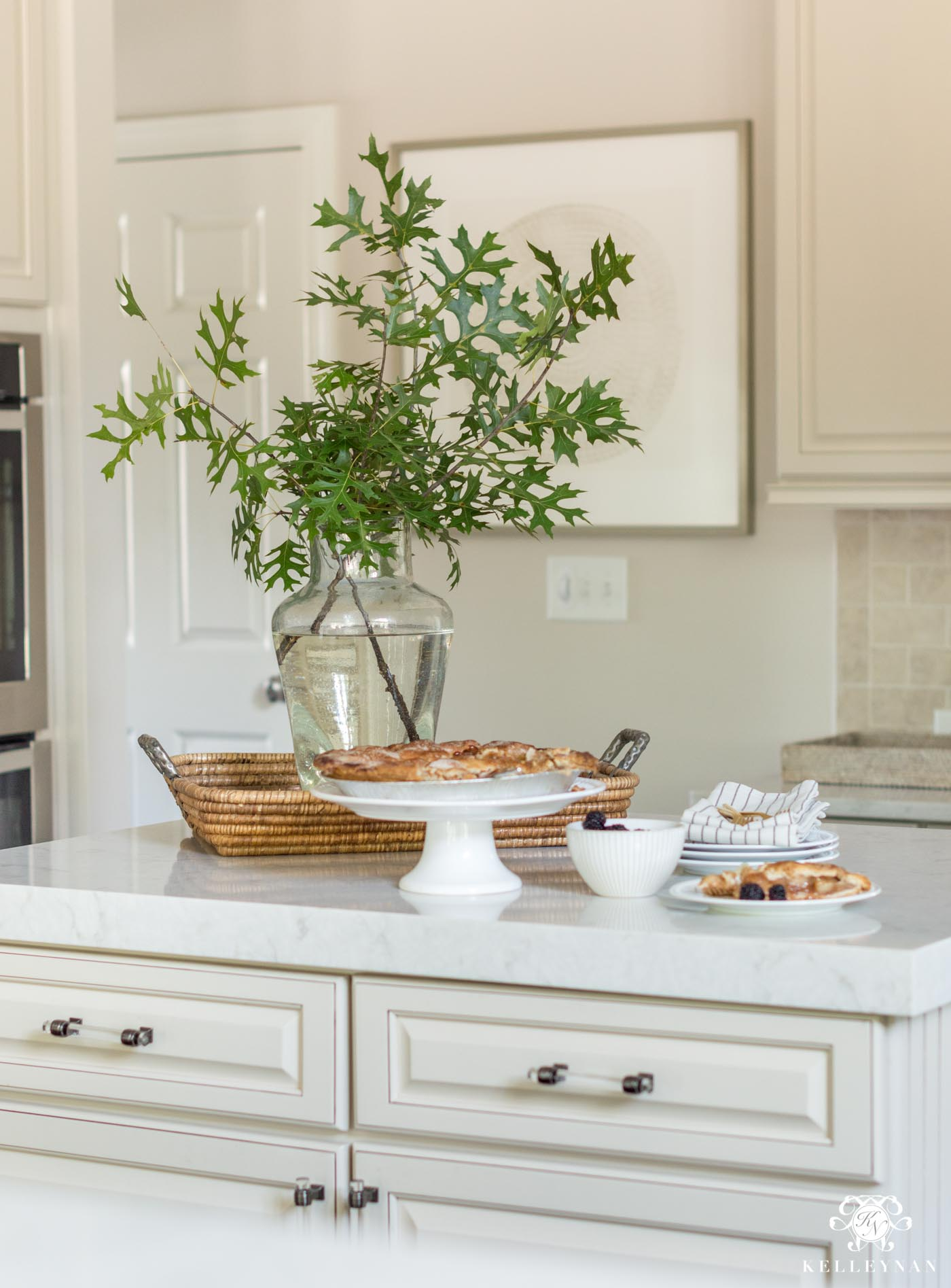 How to style a kitchen island