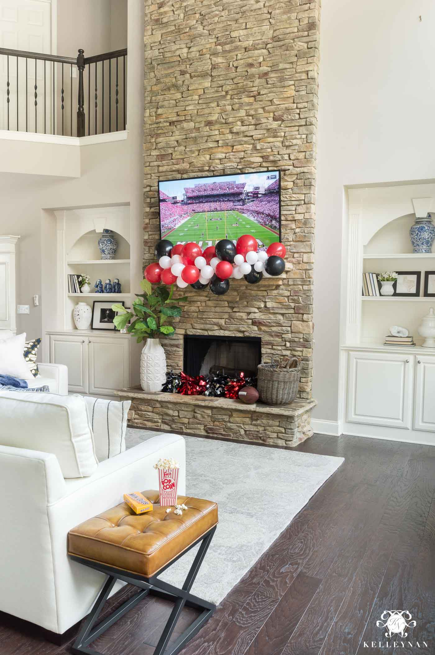 Tailgate party at home with hosting ideas