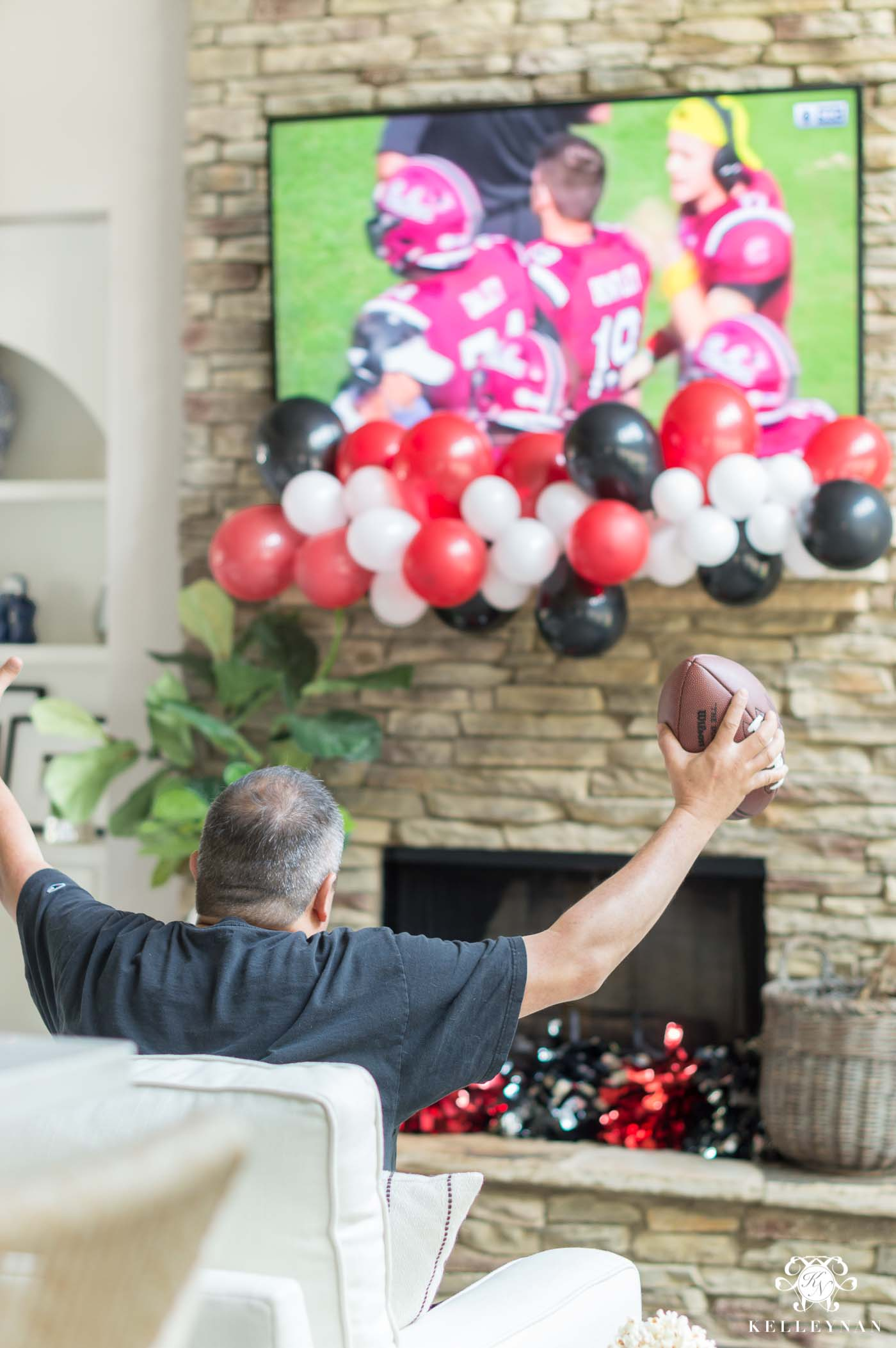 Home tailgating and game time ideas