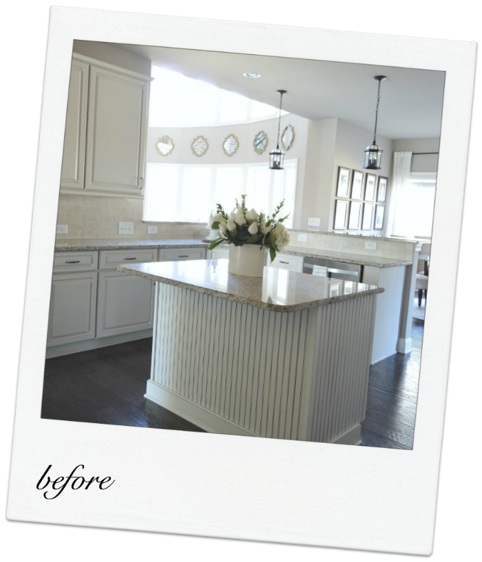 Cream Cabinet Kitchen Makeover Reveal
