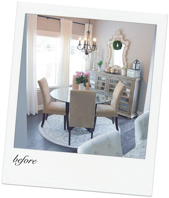 breakfast nook makeover reveal
