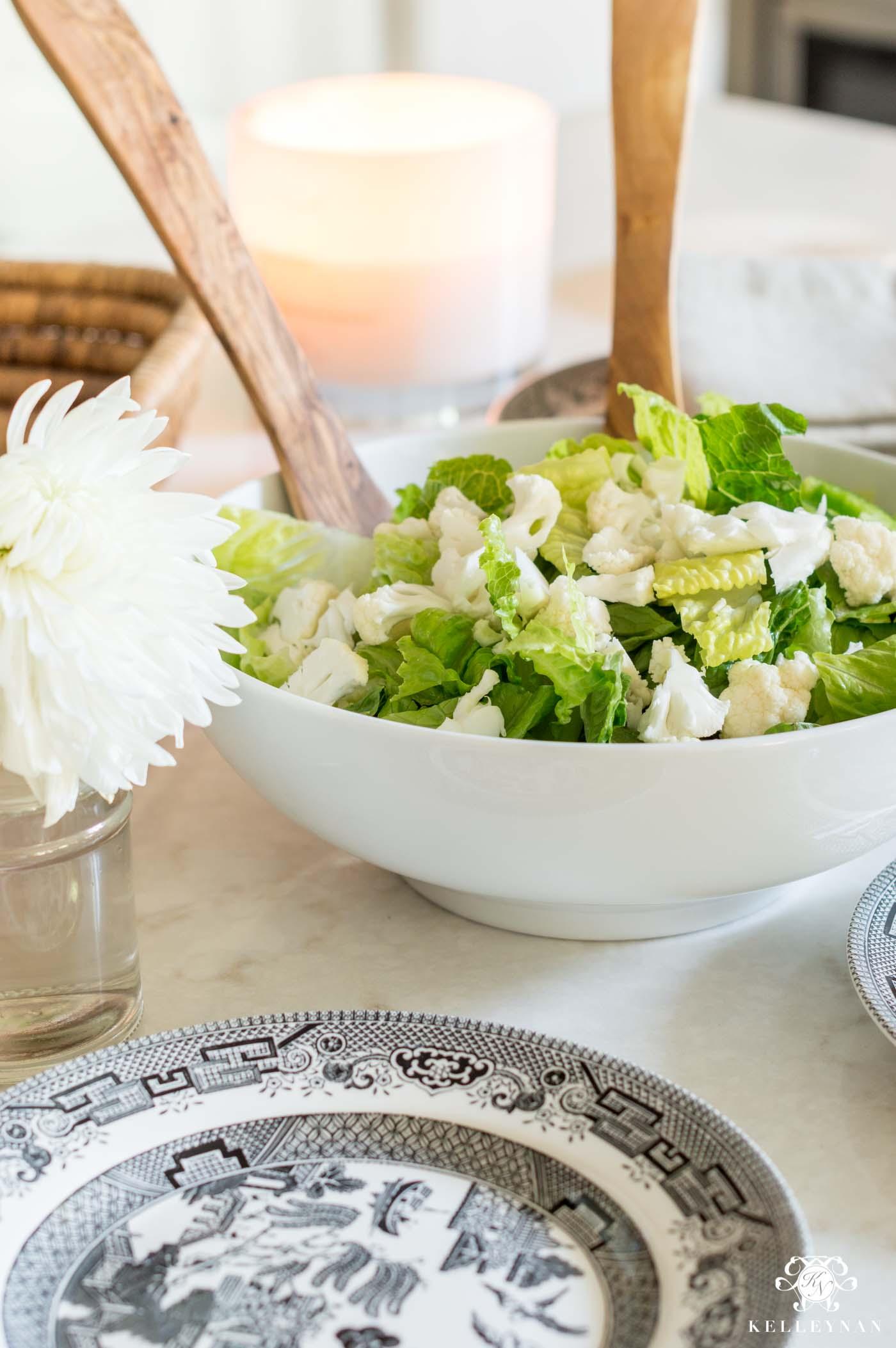 Salad and Salad Plates