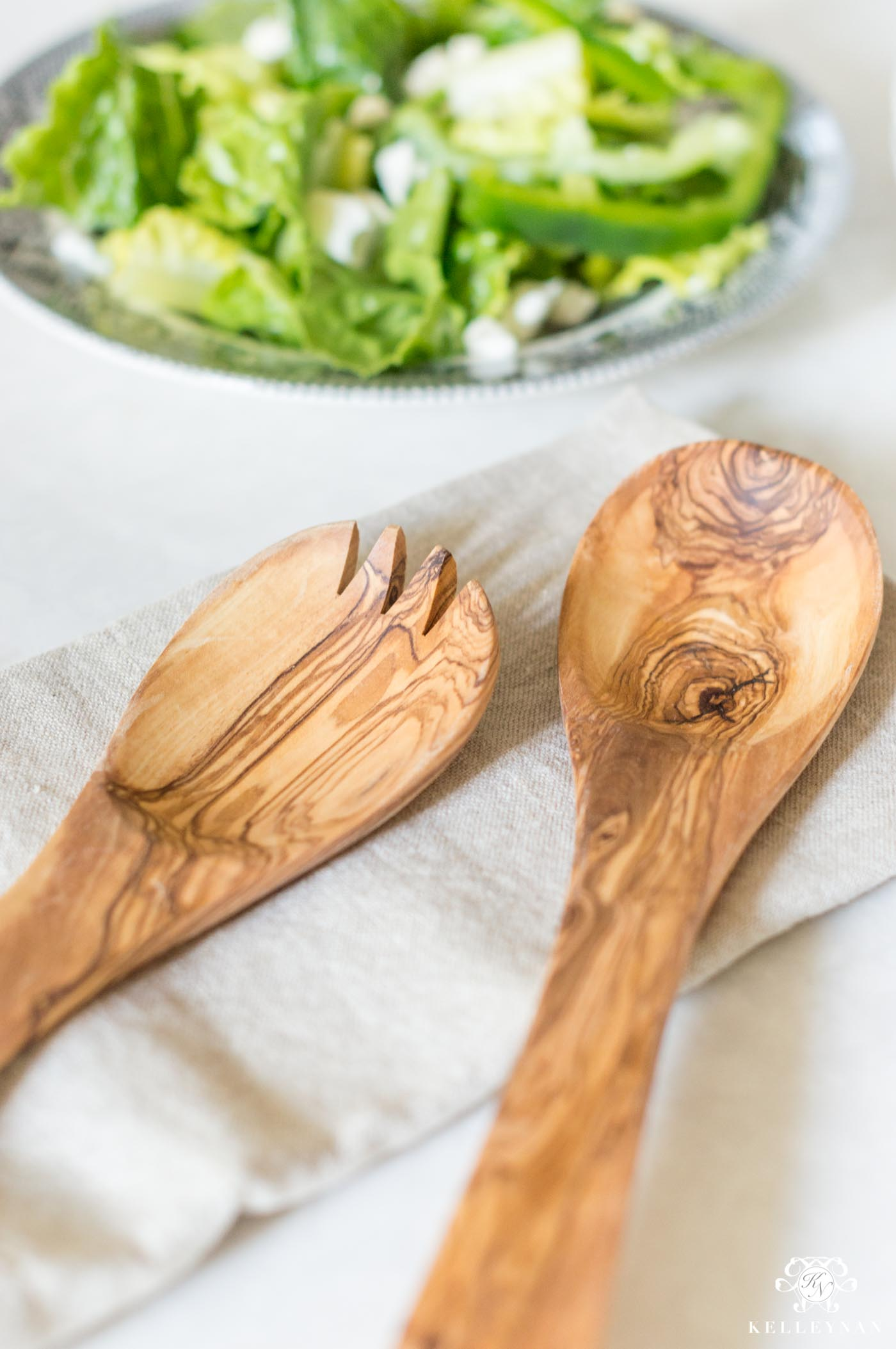 Olivewood Salad TOngs