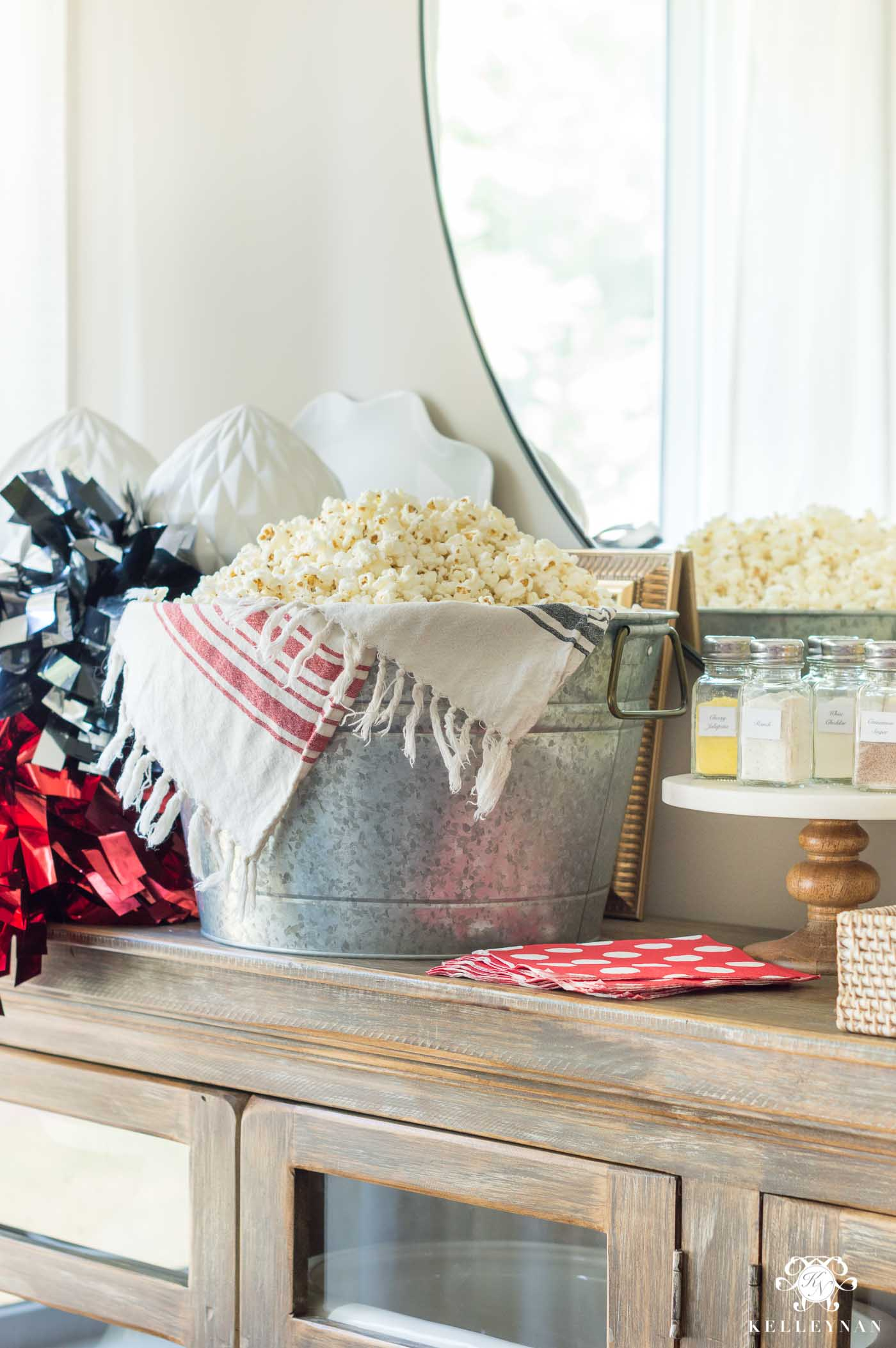 Popcorn Bar for Party Snacks