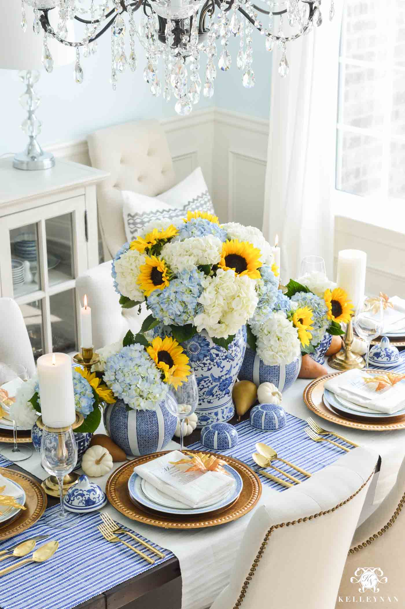 Fall Table Decorations & Taplescape Ideas