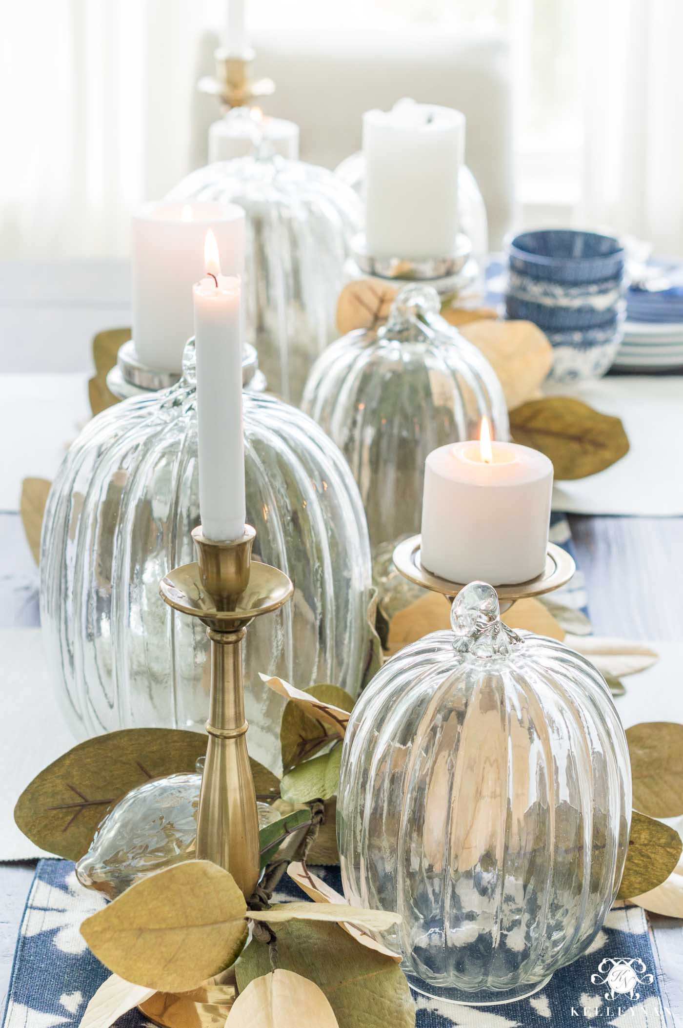 Fall Table Centerpiece Ideas