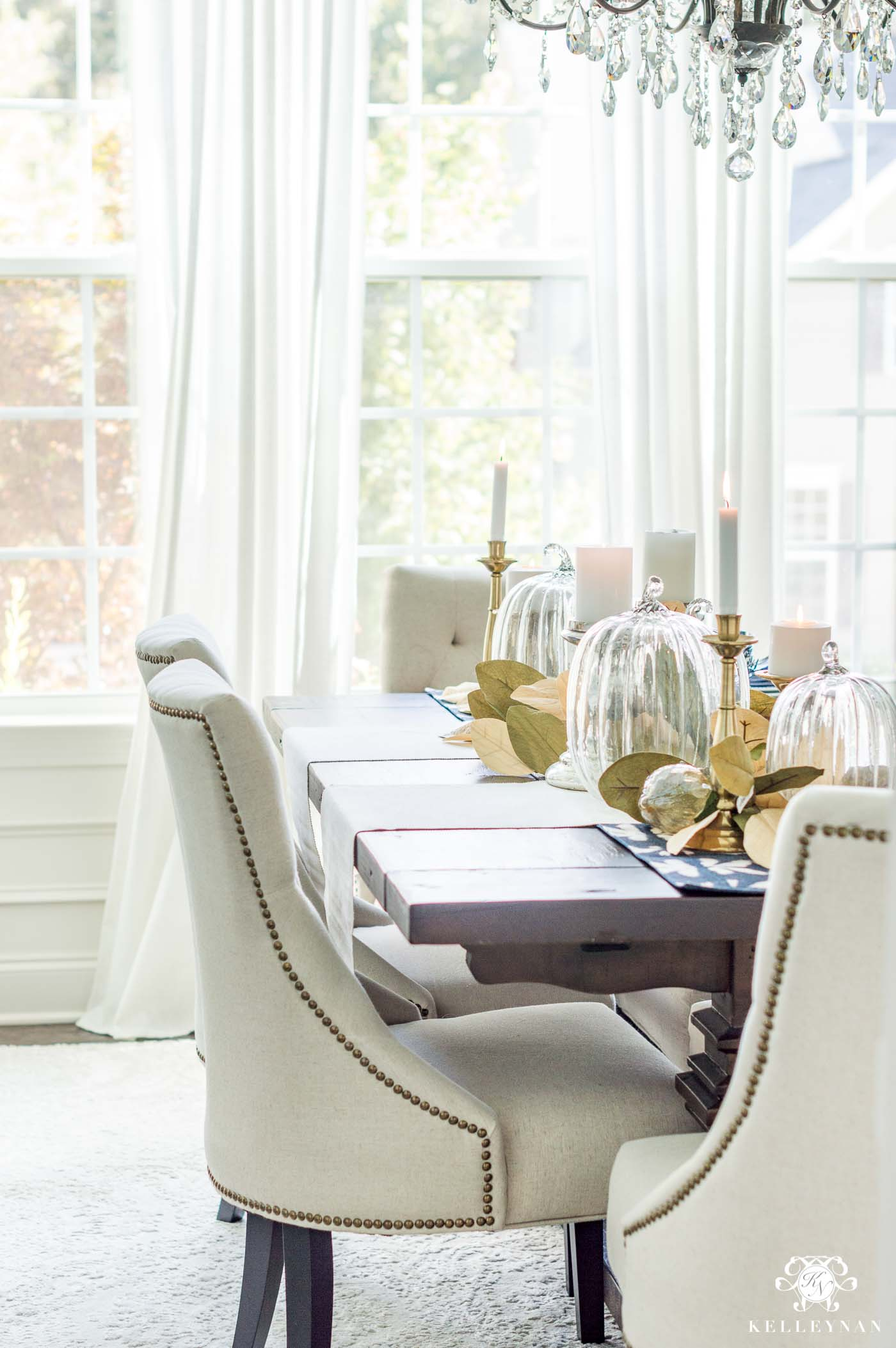 Fall Table Decor and Dining Room Ideas