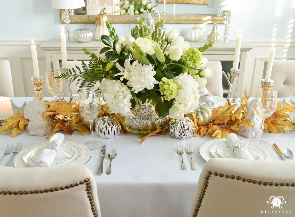 Thanksgiving Table and Place Setting Ideas