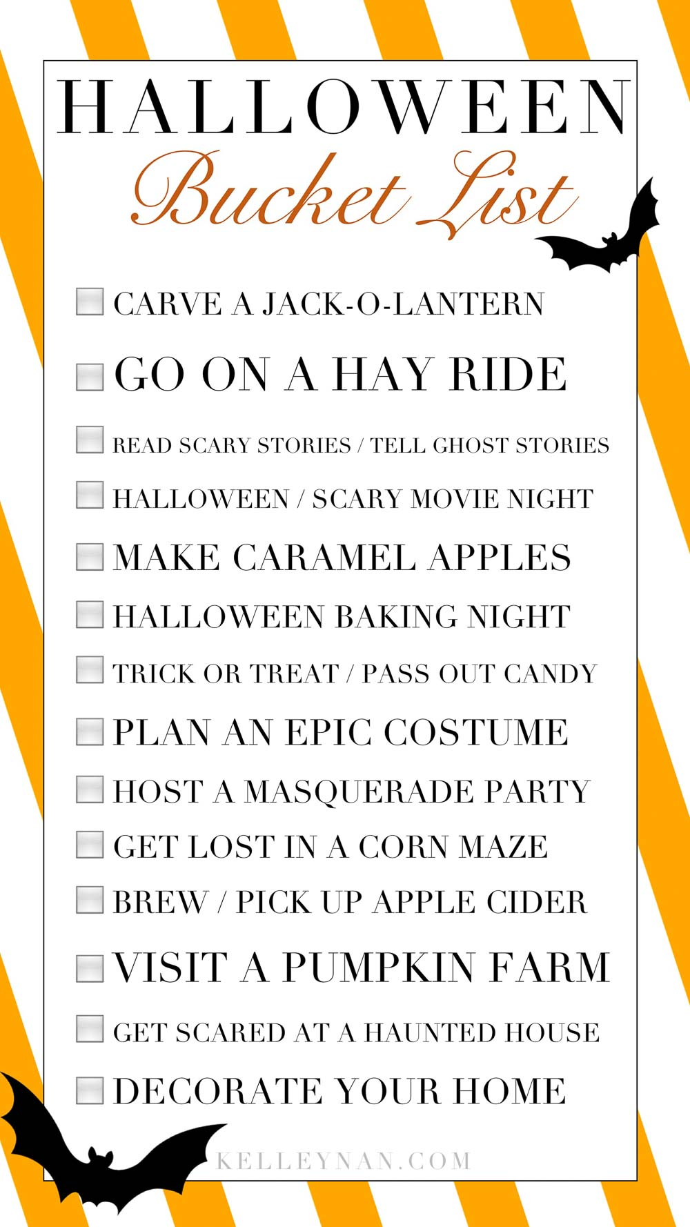 14 Halloween Family Activities and a Halloween Bucket List to Tackle this October