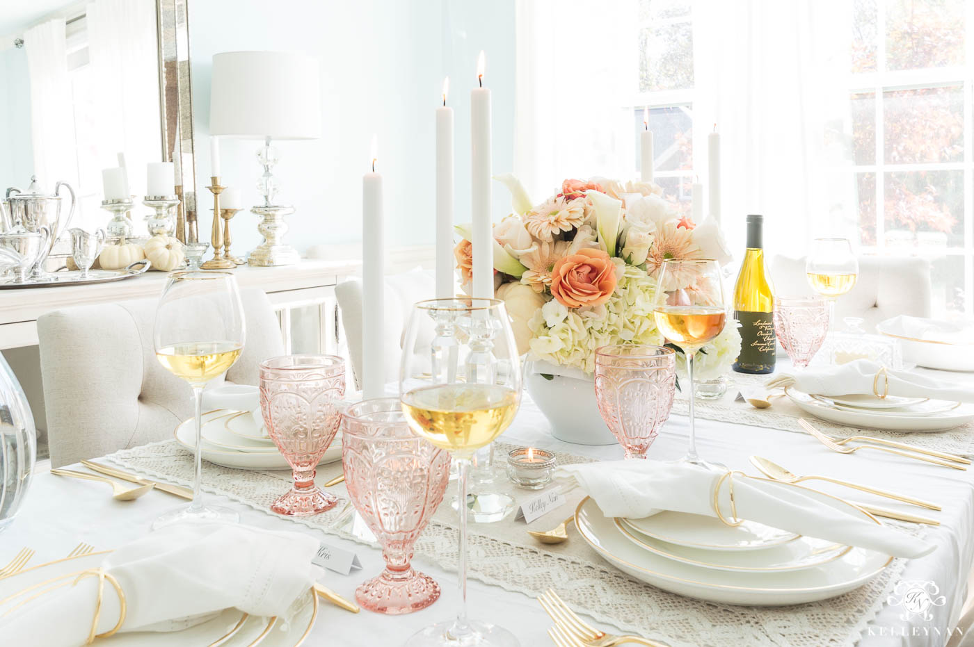 Thanksgiving tablescape ideas and decorations