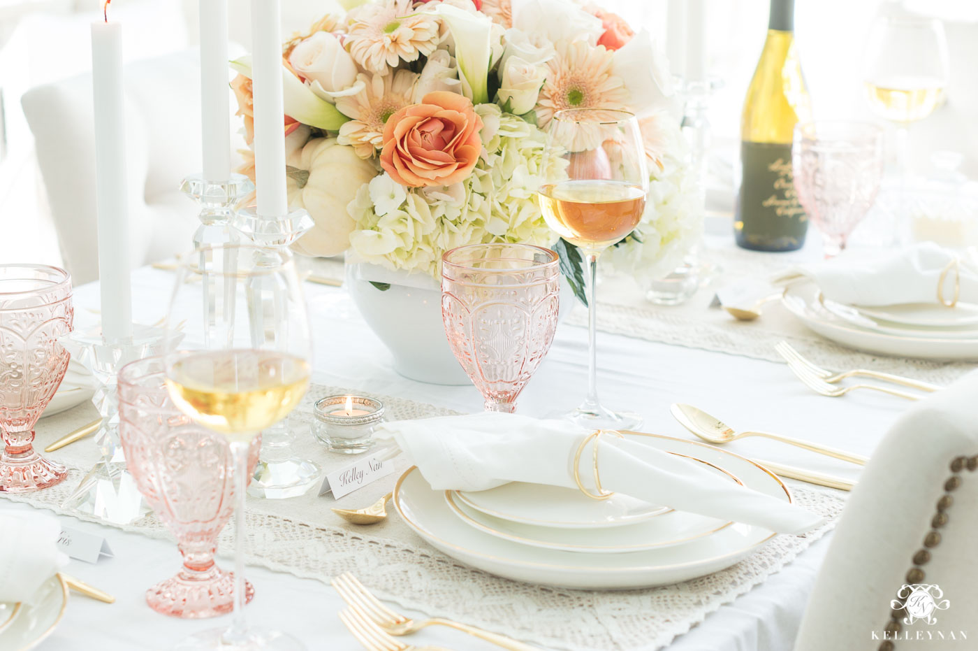 Thanksgiving Dinner Table Ideas and Decorations