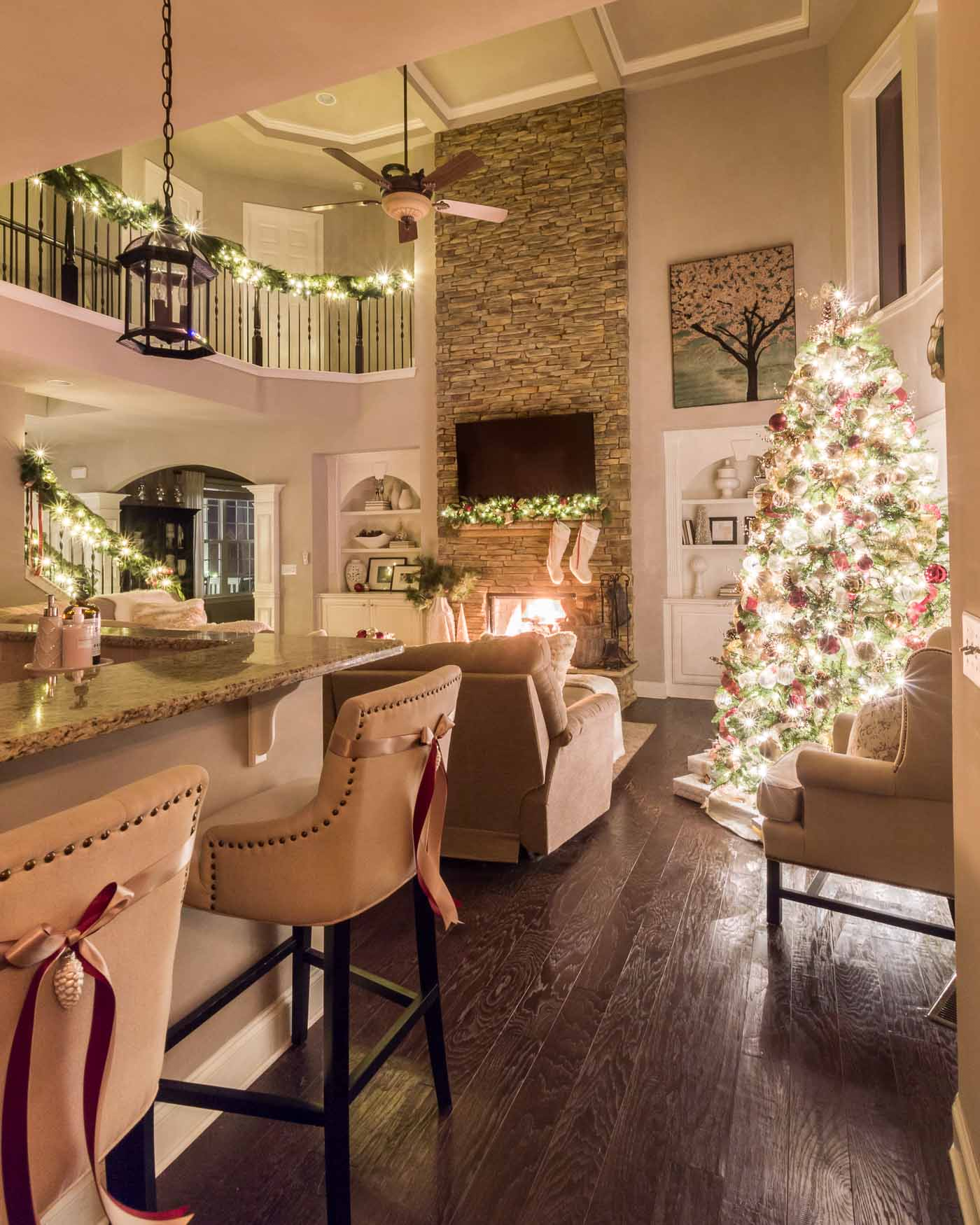 Christmas Decoration Inspiration for Living Room