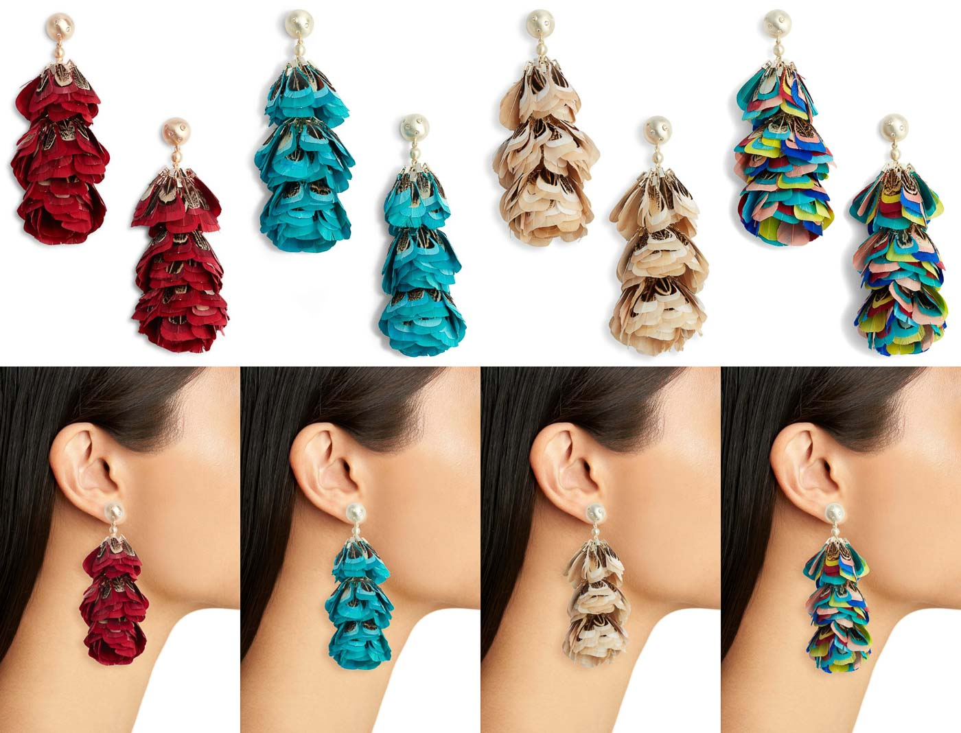 Kendra Scott Feather Earrings- Wish List!