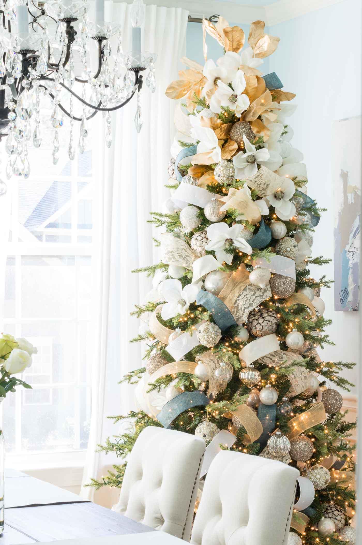Southern Magnolia tree theme
