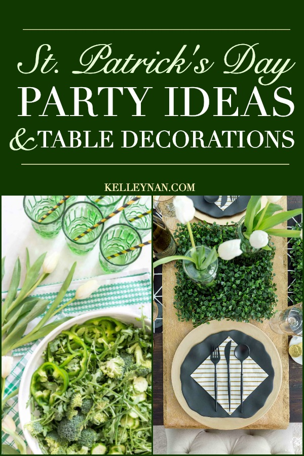 St. Patrick's Day Party Ideas for food and decorations