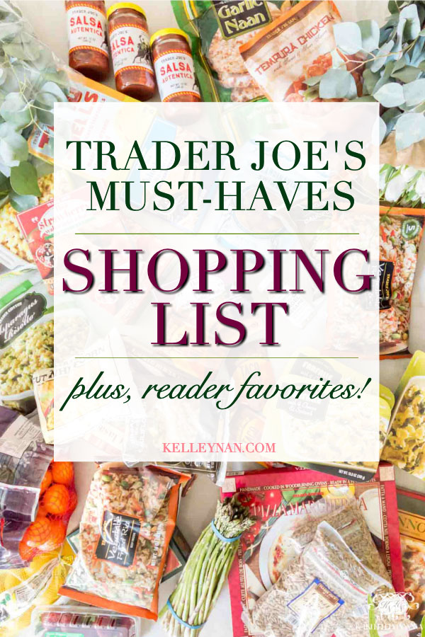 The best Trader Joe's products and a full store shopping list of favorite items